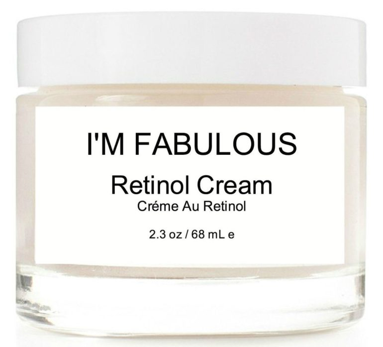 Retinol With Plants Clean And Non-Toxic | I'M FABULOUS COSMETICS