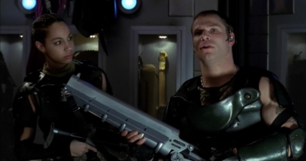 Jason X Internet Movie Firearms Database Guns In Movies TV And Video Games