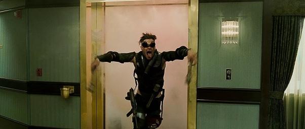 Chris Pine en Ases Calientes haciendo el bandarra