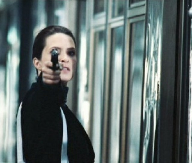 In The Straight Up Version One Of The Outfit Members Fires Her Walther Ppk At Porter