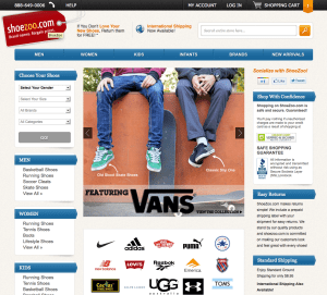 ShoeZoo Website