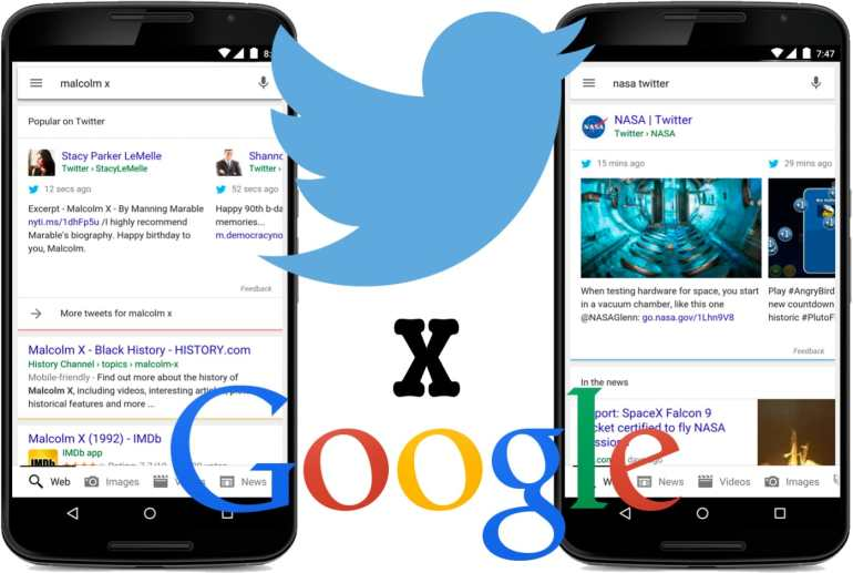 Google Adds Tweets to Search Results