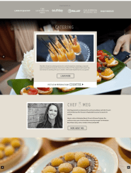 Meg Hall Celebrity Chef - WordPress Website