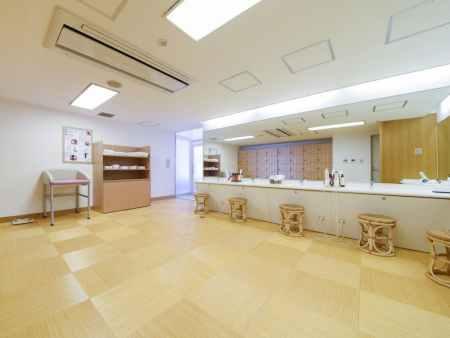 【大阪リゾート ホテル・ロッジ舞洲】大浴場の脱衣所