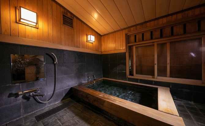 由布院温泉 日の春旅館の貸切家族風呂