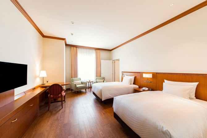 グランドエンパイアホテルの軽バリアフリールーム