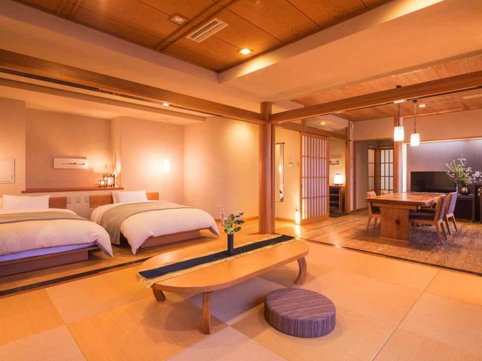 【ホテル松本楼】バリアフリー対応の部屋 松本楼スイート「君松」