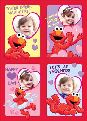 Elmo School Valentines Valentines Day School Valentine