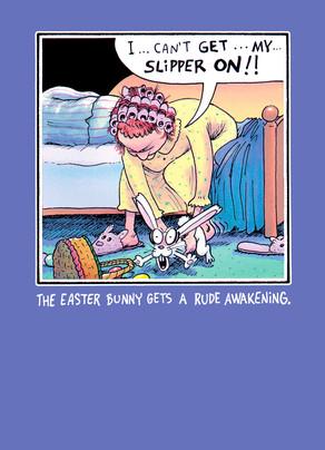 Rude Awakening Easter Card Cardstore
