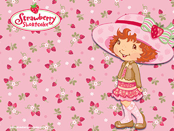 Strawberry Shortcake Cartoons Wallpaper