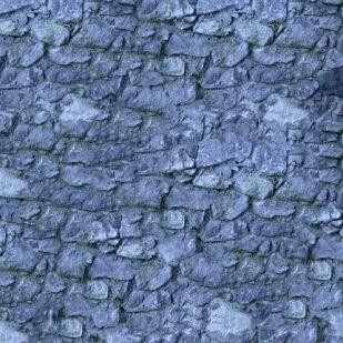 Увеличенная текстура стены из синего камня и с появлением новых деталей