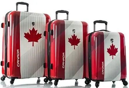 Malas prontas para viajar pro Canadá