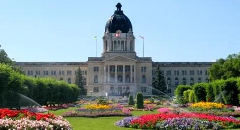 Parlamento em Regina, Saskatchewan - Canada