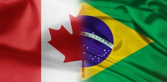 Bandeira Brasil-Canadá