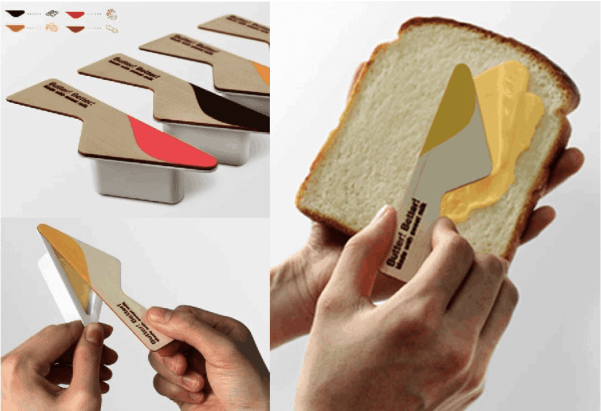 Butter Knife Packaging iMin Best POS System for Takeaway