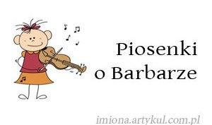 Piosenki o Barbarze