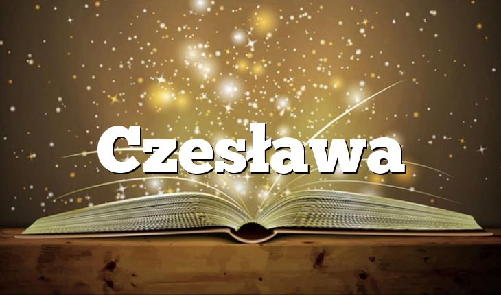 Czesława