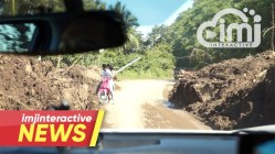 WATCH | Sagñay-Tiwi Road now passable; relief and clearing ops continue