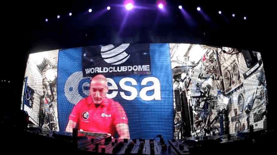 WATCH: First ever live DJ performance in space
