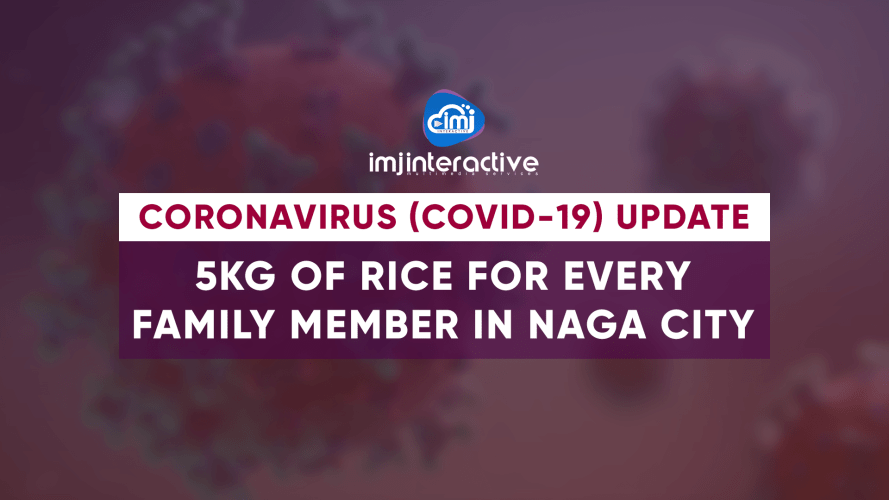Naga City to distribute 5kg rice per member of household