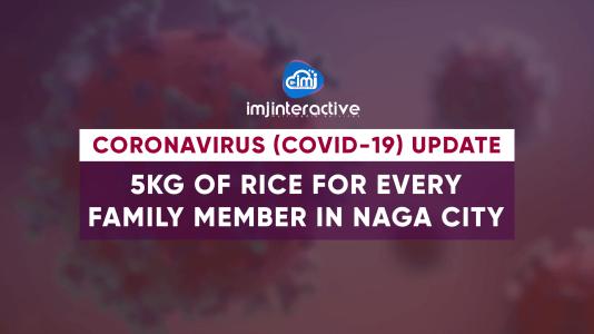 Naga City to distribute 5kg rice per member of household