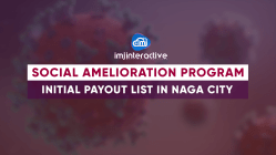 Initial list of Social Amelioration Program payout in Naga City | April 21, 2020