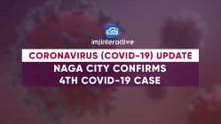 Naga City confirms 4th COVID-19 case