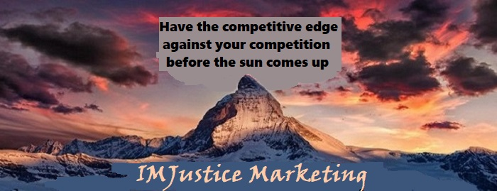 have the competitive edge before your competition wakes up