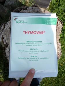 Thymovar verpackung, Thymol-Produkt,Thymovar Bienen