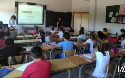 El colegio Juan XXIII-Cartuja acoge un examen oficial de YLE para más de un centenar de alumnos