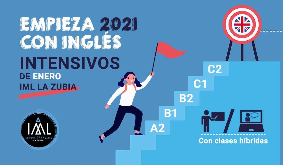 Cursos intensivos de inglés 2021. ¡Todos los niveles!