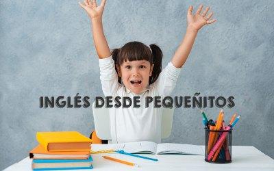4 beneficios de aprender inglés desde muy pequeños