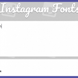 Fonts For Instagram Terbaru