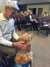 Comfort Dog presentation