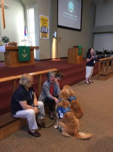 comfort dog presentation 5