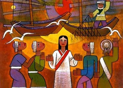 Jesus Calls Philip and Nathanael 4