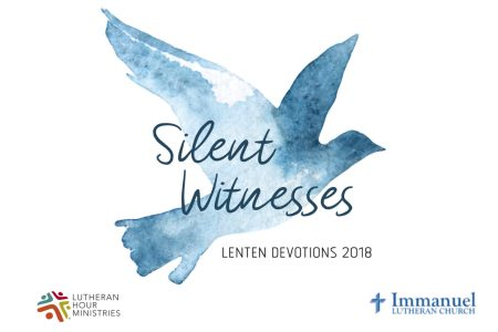 silent witnesses lent daily devotion logo