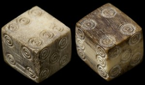 not a chance roman dice from the 1st century