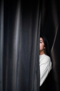 hiding behind curtain advent devotion immanuel lutheran church joplin missouri