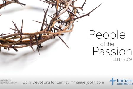 Lent Devotions 2019 Immanuel-Joplin