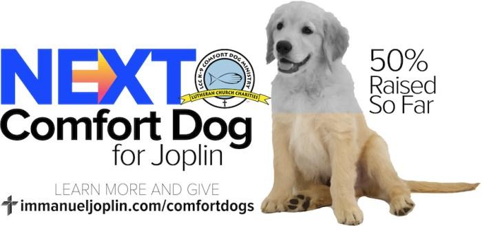 Generous Support For Joplin's Next Comfort Dog 1