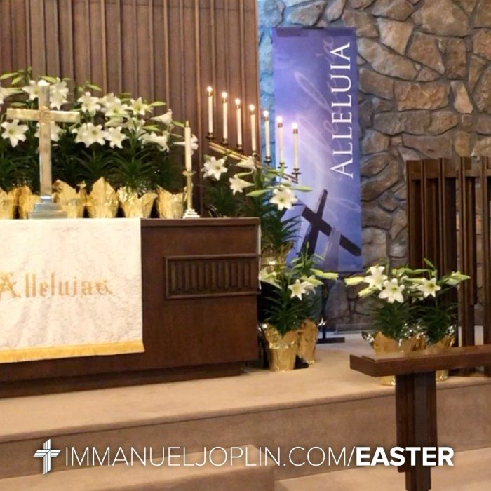 Easter at Immanuel 7