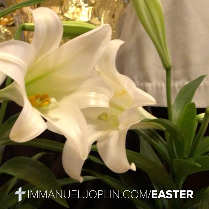 Easter at Immanuel 11