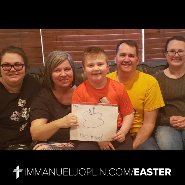 Easter at Immanuel 18