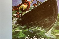 and the waves were breaking into the boat. Immanuel Lutheran Church LCMS. Joplin Missouri. Pentecost 4 bulletin cover