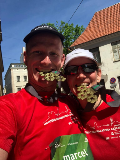 Riga Marathon Finisher