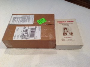 Shipping box compared to OCE boxed set.
