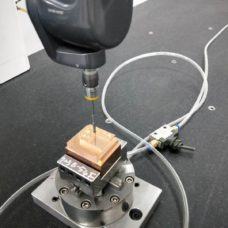 3d cmm measurement electrode