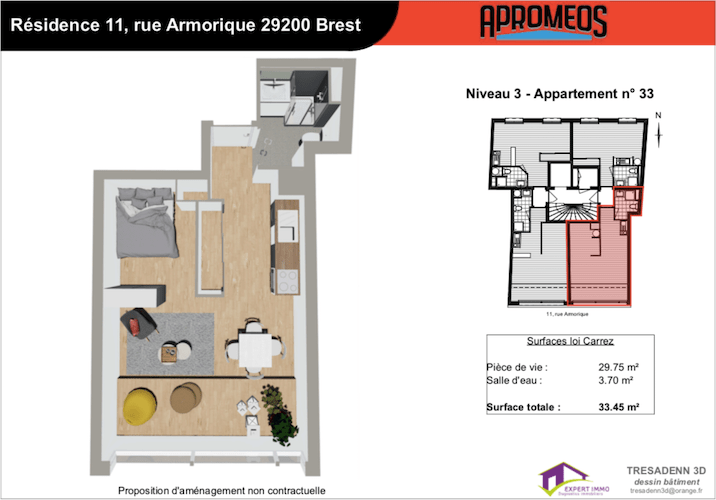 Appartements, Brest, Imm'Horizon Finances