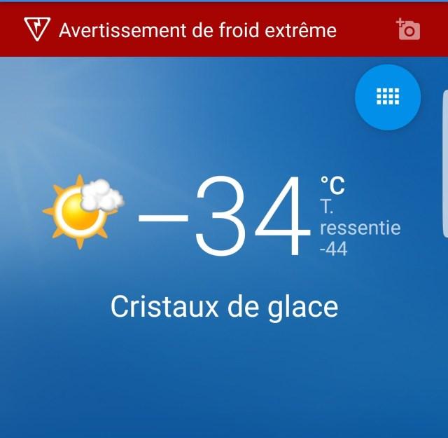 42 Degres Un Froid Arctique Frappe Le Quebec Comment Y